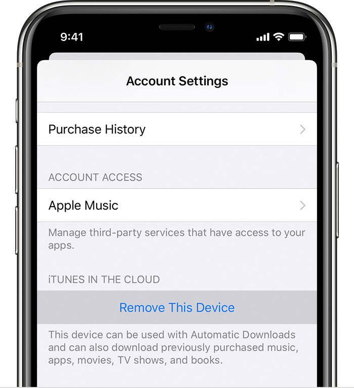 how to login to apple music on new phone